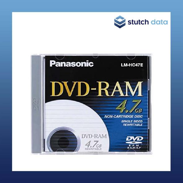 Panasonic DVD RAM 4.7GB Single Sided Rewriteable Non Cartridge Disc LM-HC47E