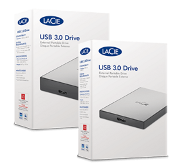 LaCie USB 3.0 Drive 2TB External Portable Hard Drive STHY2000800