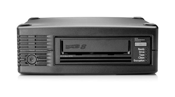 HPE (rebadged) LTO Ultrium 30750 LTO-8 External/Desktop SAS Tape Drive