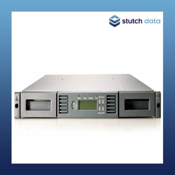 Image of HPE LTO Ultrium 1/8 Autoloader with SAS LTO8 drive & 8 tape slots