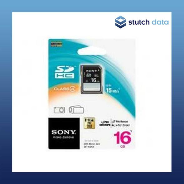 Image of Sony SDHC 16GB Memory Card Class4 SF-16N4