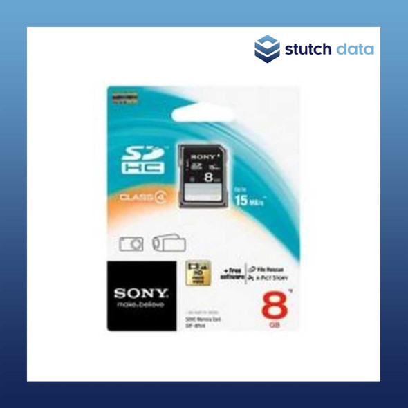 Image of Sony SDHC 8GB Memory Card Class 4 SF-8N4