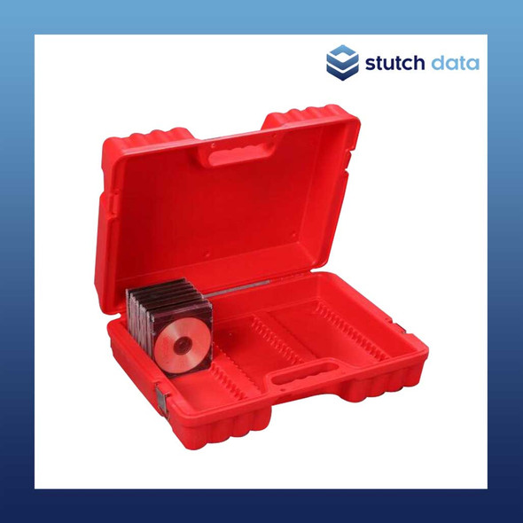 Image of Turtle CD/DVD Case - 55 Capacity 08-674119