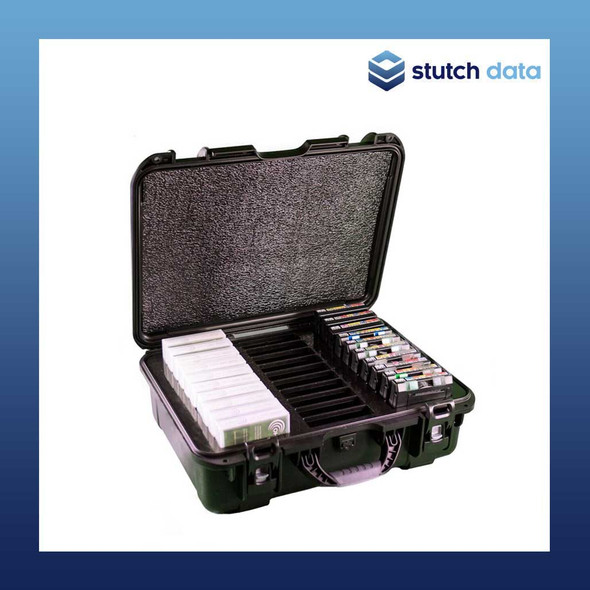 Image of TeraTurtle LTO/3592/T10k Tape 30 Capacity Case 07-039008