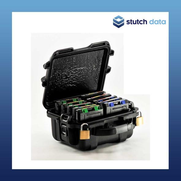 TeraTurtle LTO/3592/T10k 10 Tape Capacity Case 07-509003