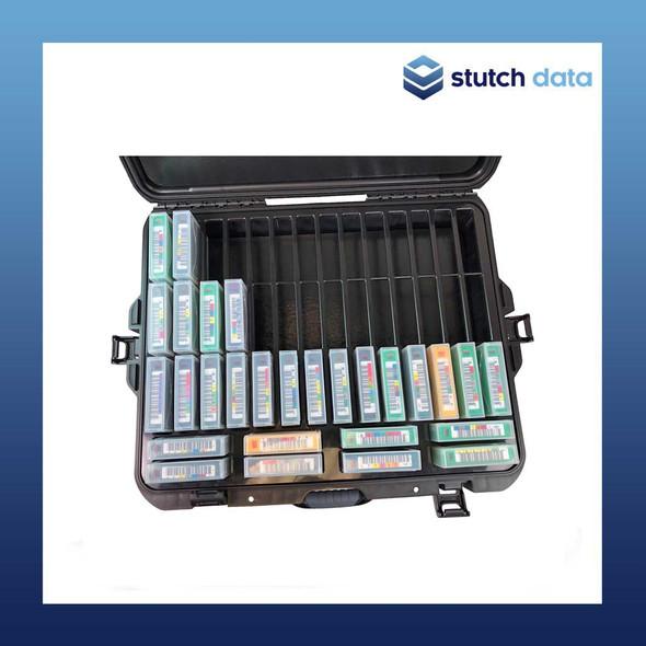 Image of TeraTurtle LTO/3592/T10k 50 Tape Capacity Case 07-549005 top view