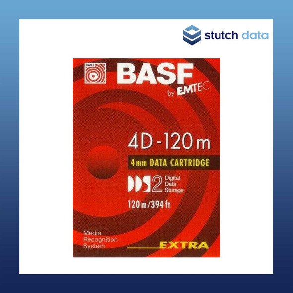 Image of BASF DDS-2 4D-120m 4mm Data Cartridge D-67059