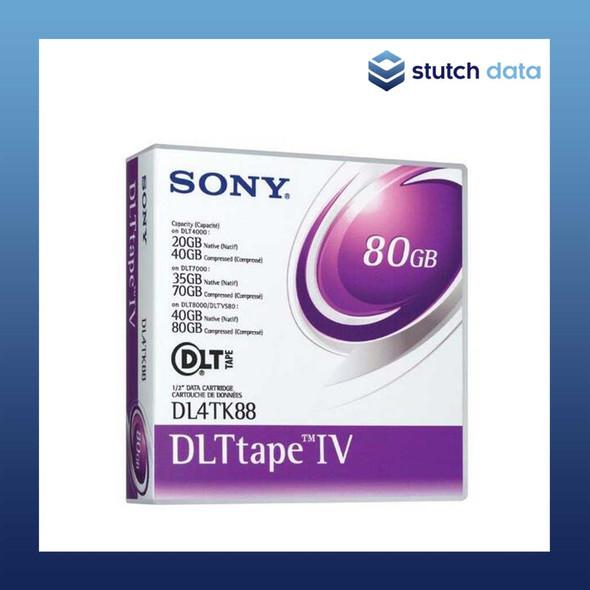 Image of Sony DLTtape 1V Data Cartridge DLT4TK88