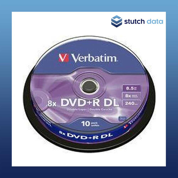Verbatim DVD+R Dual Layer (DL) 10 Disc Spindle 43666