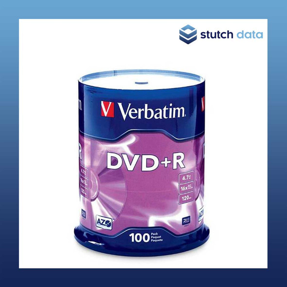 Verbatim DVD+R 100 Disc Spindle 95098