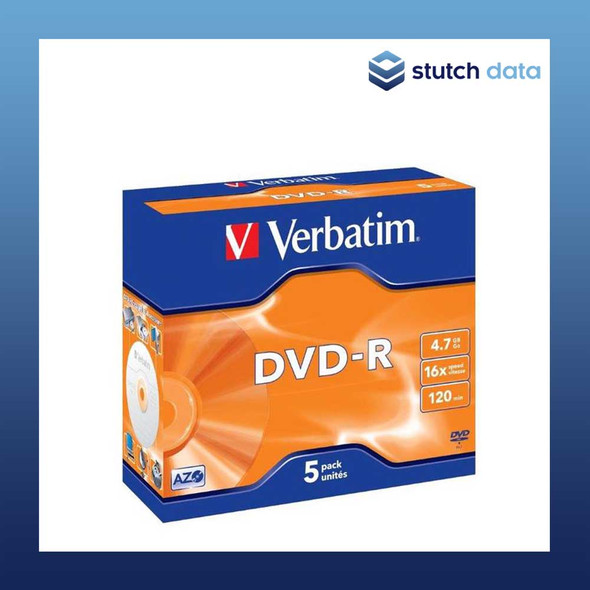 Verbatim DVD-R 5 Pack in Jewel Cases 95070
