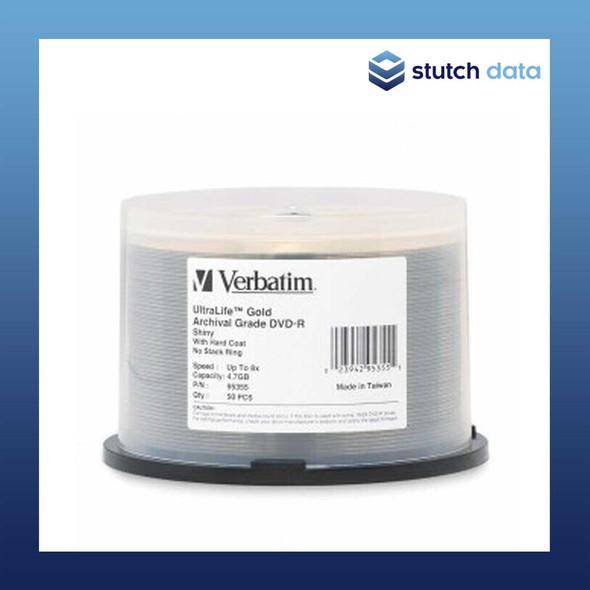 Verbatim DVD-R 50 Disc Spindle Gold Archival Grade HC 95355