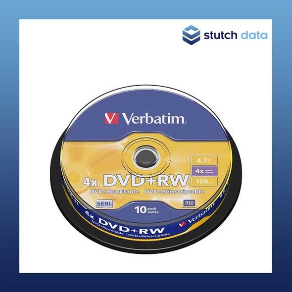 Verbatim DVD+RW 10 Disc Spindle 43488