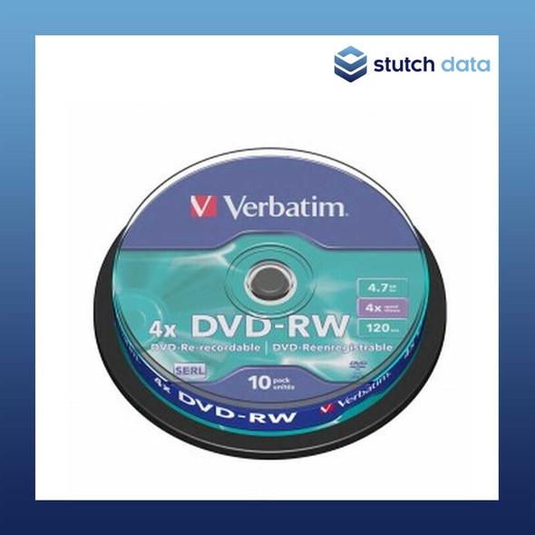 Verbatim DVD-RW 10 Disc Spindle 43552