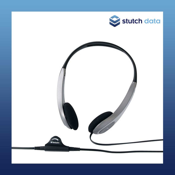Image of Verbatim Multimedia Headset with Volume Control 41645