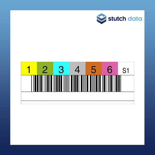 Image of DLT & SDLT Tape Barcode Labels
