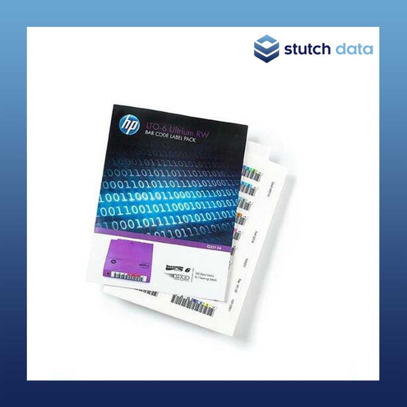 Image of HPE/HP LTO-6 Ultrium RW Barcode Label Pack Q2013A