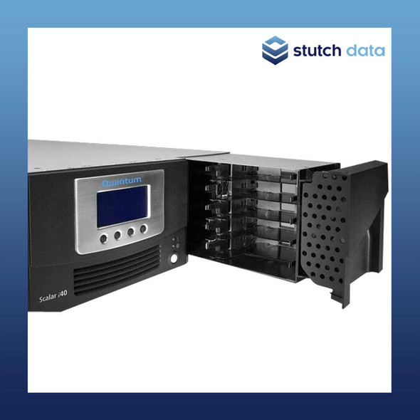 Image of Quantum i40 Tape Library with a SAS LTO6 drive & 25 LTO tape slots