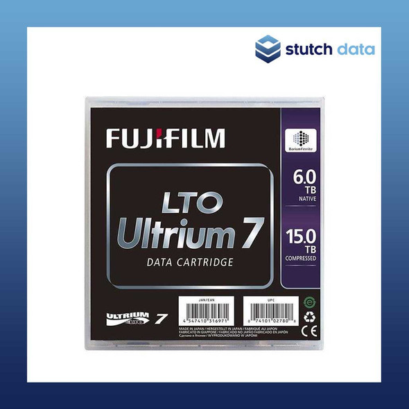 Image of Fujifilm LTO7 M8 Ultrium Type M Pre-barcoded Data Cartridge