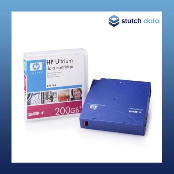 Image of HP LTO-1 Ultrium RW Data Cartridge C7971A