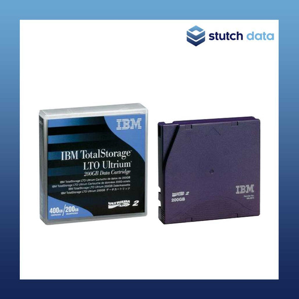 Image of IBM LTO 2 Ultrium 2 Data Cartridge 08L9870