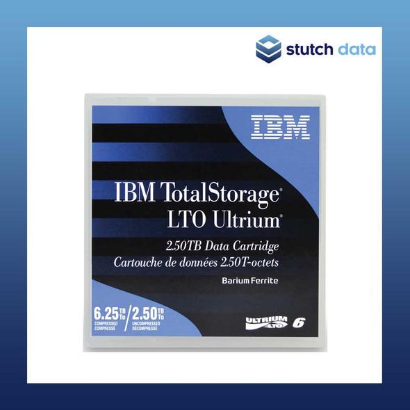 Image of IBM LTO 6 Ultrium6 Data Cartridge 00V7590 front view