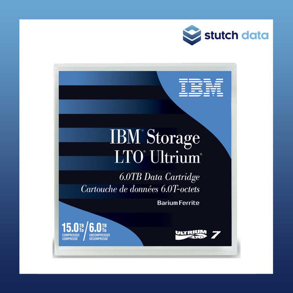 Image of IBM LTO 7 Ultrium7 Data Cartridge 38L7302 front view