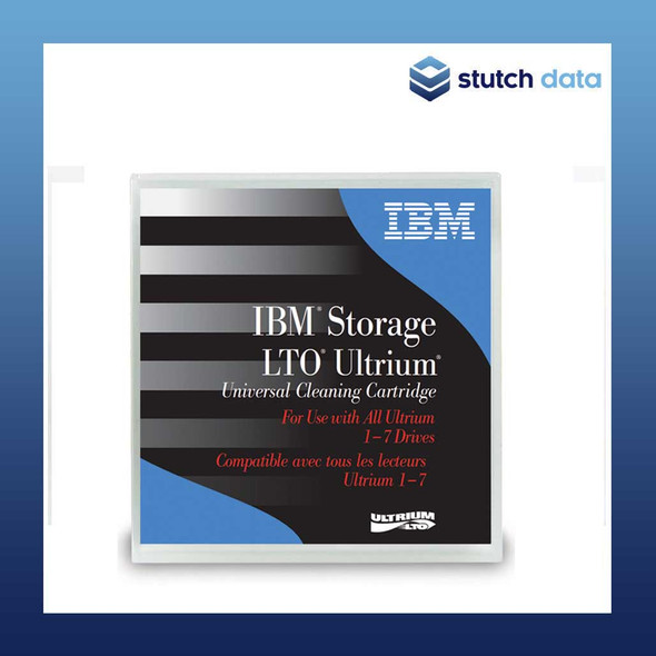 Image of IBM LTO Ultrium Cleaning Cartridge 35L2086 front view