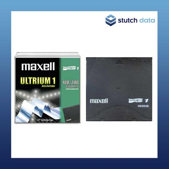 Image of Maxell LTO1 Ultrium 1 Data Cartridge