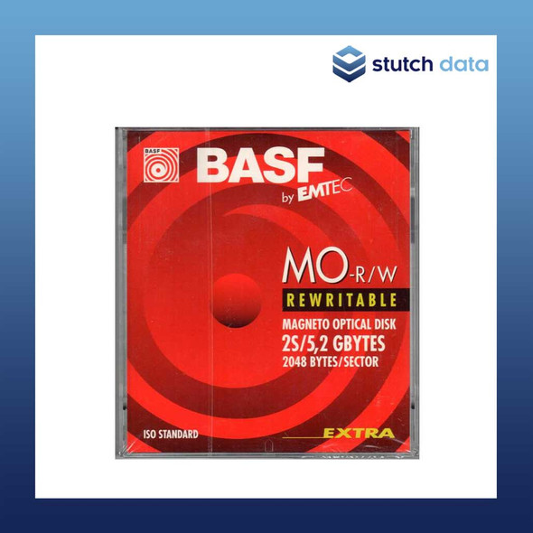 "Image of BASF 5.25"" Magneto Optical Rewriteable Disk 5.2GB"