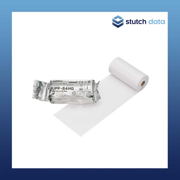 Image of Sony High Gloss Thermal Print Media Roll UPP-84HG