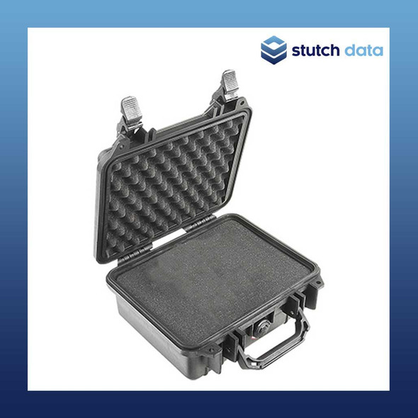 Image of Pelican 1200 Black case with pluckable foam