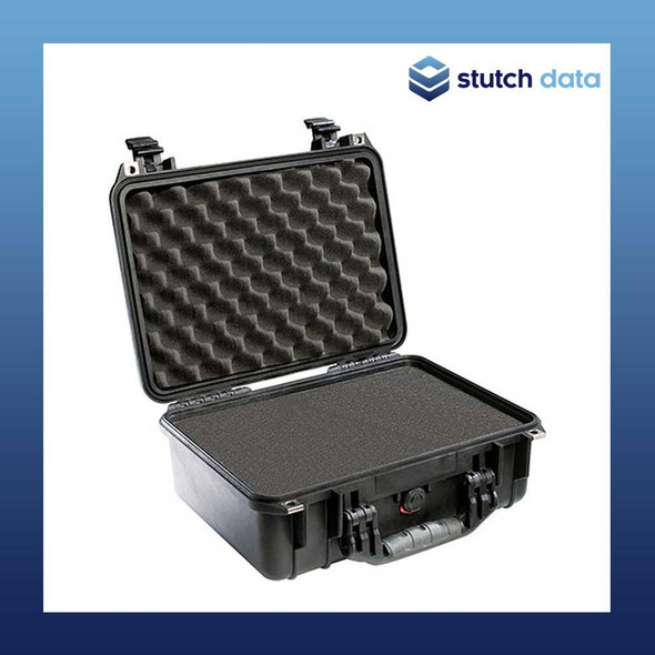 Image of Pelican 1400 Black case with pluckable foam
