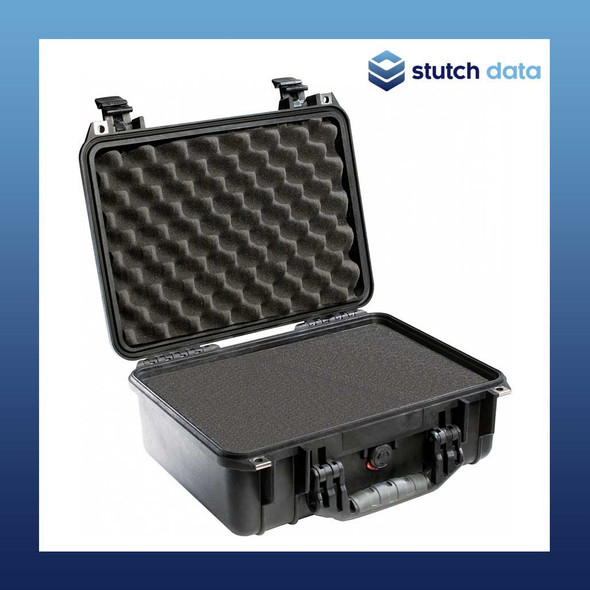 Image of Pelican 1450 Black case with pluckable foam
