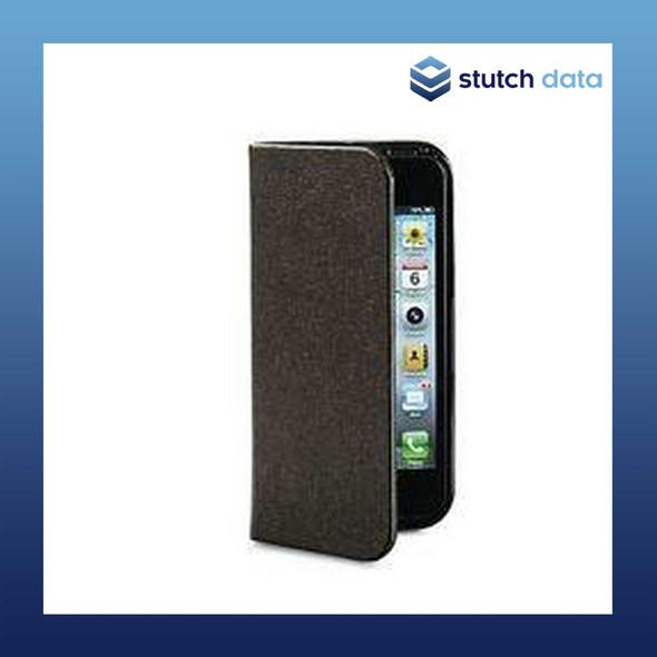 Image of Verbatim Folio Pocket Case for iPhone 5 in Mocha Brown 98088