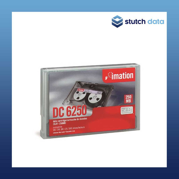 Image of Imation DC6250 QIC 250MB Data Cartridge SLR1