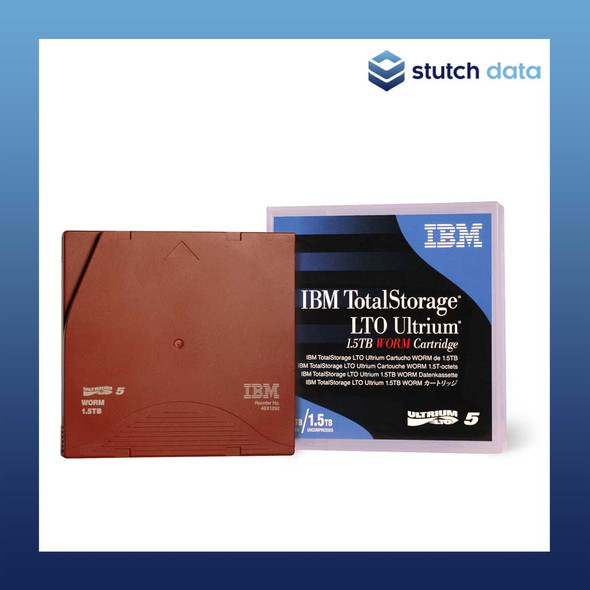 Image of IBM LTO 5 Ultrium 5 WORM Tape Cartridge 46X1292