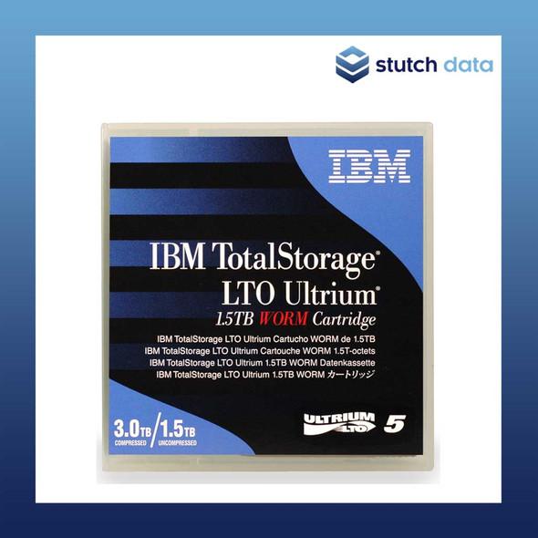 Image of IBM LTO 5 Ultrium 5 WORM Tape Cartridge 46X1292 in product case