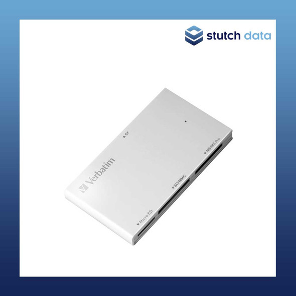 Verbatim 4-in-1 USB 3.0 Card Reader - White 64901