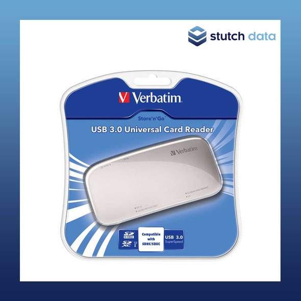 Image of Verbatim USB 3.0 Universal Card Reader 97706 in product box