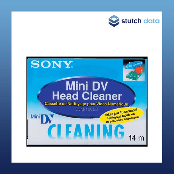 Image of Sony Minin DV Head Cleaner Digital Video Cleaning Cassette DVM-12CLD