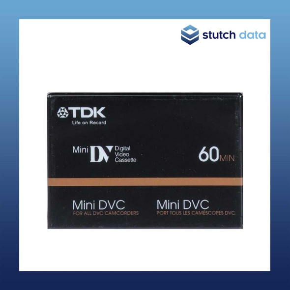 Image of TDK Mini DV Digital Video Cassette Tape  Mini DVC