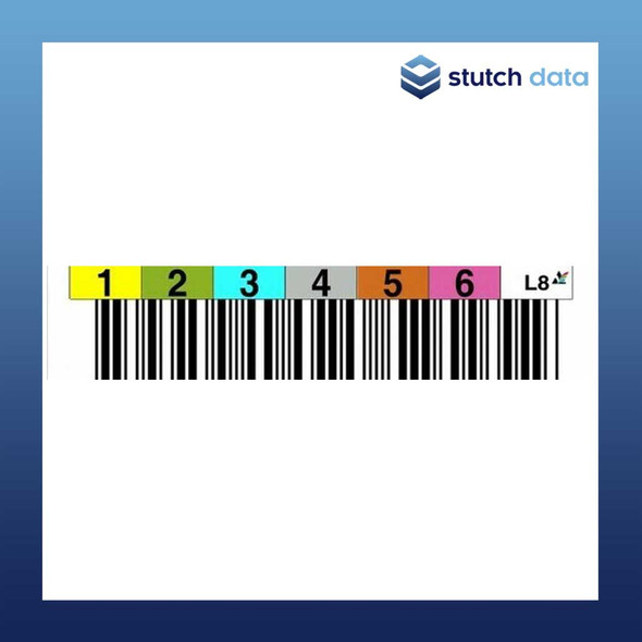 Image of LTO Tape Random Barcode Labels (Individual Labels)