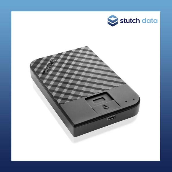 "Verbatim 2.5"" USB 3.1 Store'n'Go Secure HDD w/Fingerprint Access 1TB 53650"