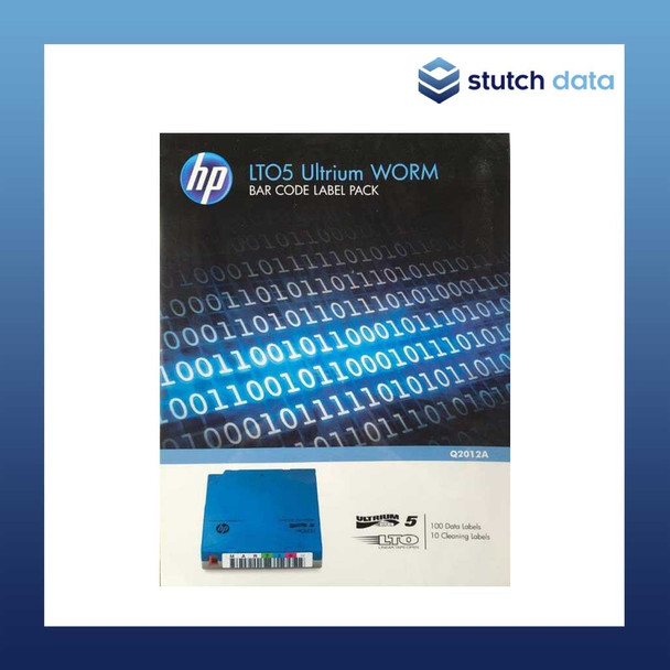 Image of HPE/HP LTO5 Ultrium WORM Barcode Label Pack Q2012A