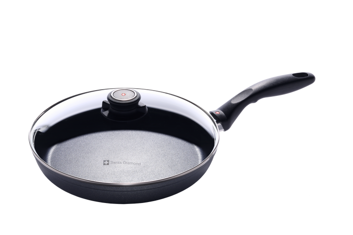 """10.25"""" Nonstick Fry Pan with Lid 