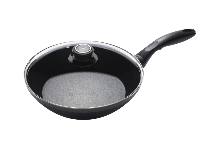 """10.25"""" Nonstick Stir-Fry Pan With Lid 