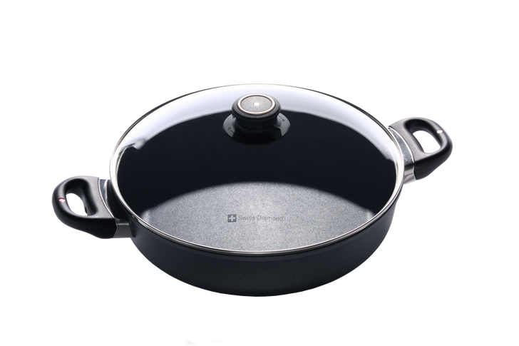 """3.7 qt (11"""") Nonstick Sauteuse with Lid 