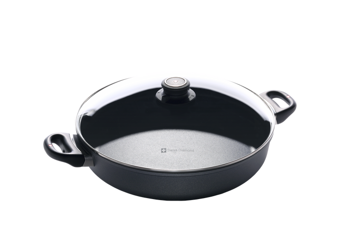 """4.8 Qt (12.5"""") Nonstick Sauteuse with Lid 