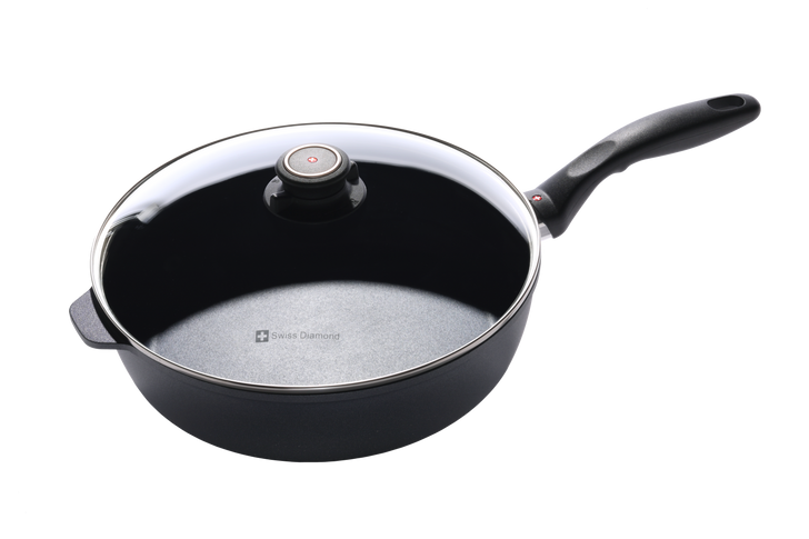 "4.3 qt (11"") Nonstick Induction Saute Pan with Lid 